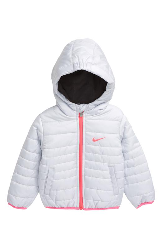 nike kids' core quilted jacket (baby)