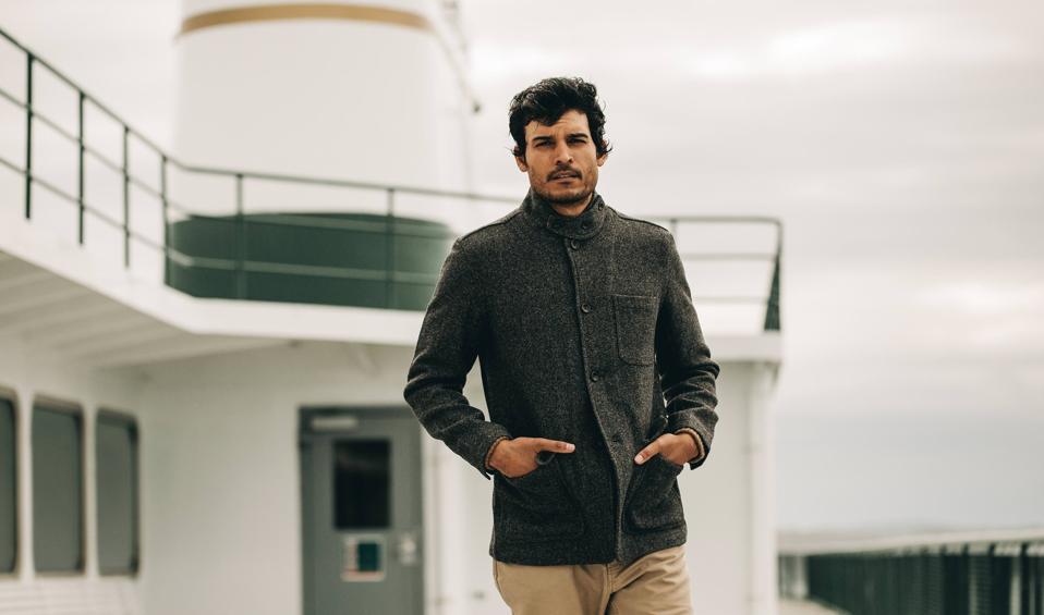 man, wool jacket, wool, sustainable fashion, fashion