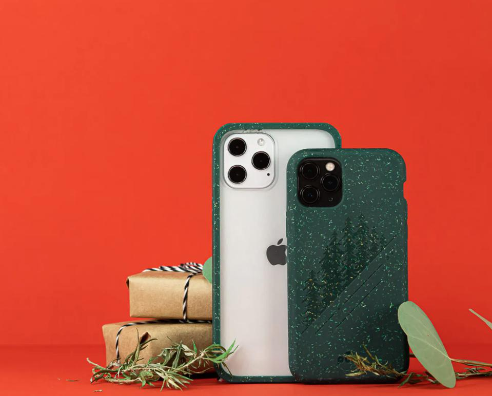 compostable, iPhone cover, smartphone, phone