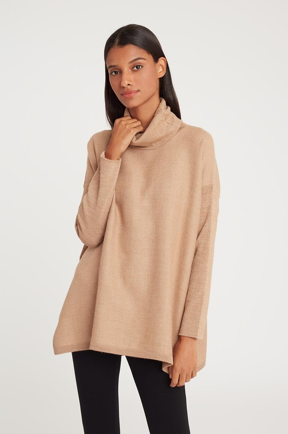 turtleneck, alpaca, wool, sweater