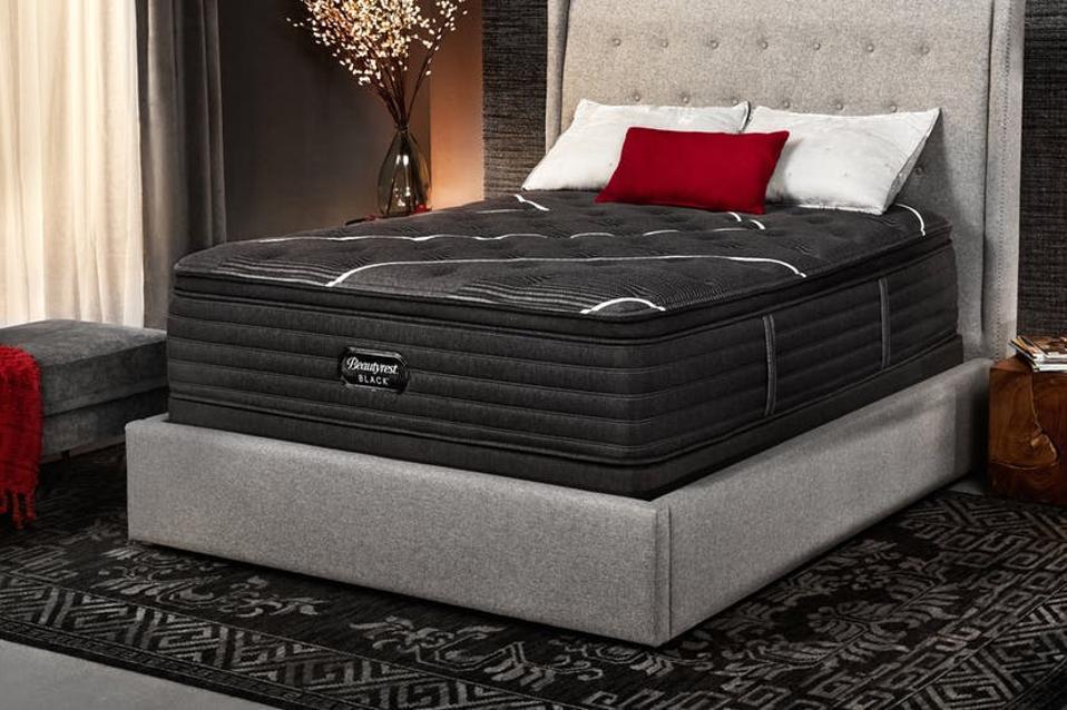 Beautyrest Black mattress in a bedroom - Queen