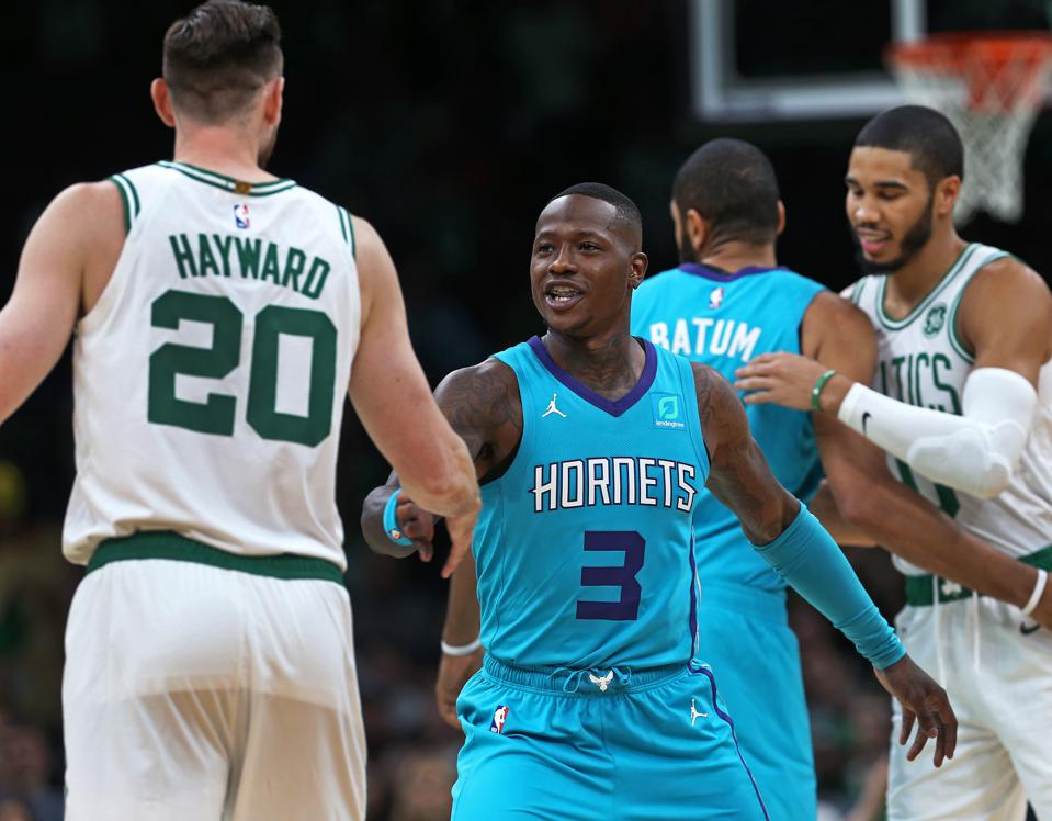 NBA Pre-Season: Charlotte Hornets Vs Boston Celtics At TD Garden