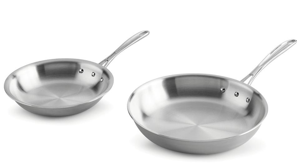 Calphalon Tri-Ply 8″ & 10″ Fry Pan Set