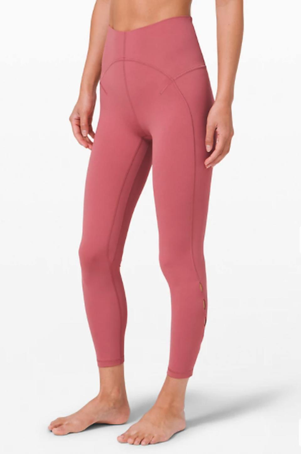 Unlimit High-Rise Tight 25″ Keyhole