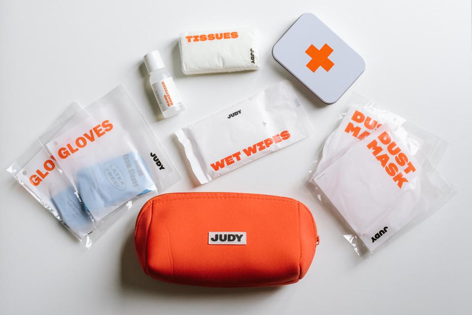 emergency kit with n95 mask