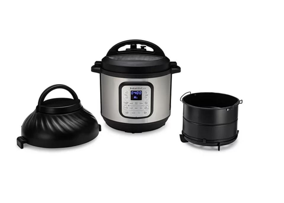 Instant Pot Duo Crisp Pressure Cooker & Air Fryer Combo