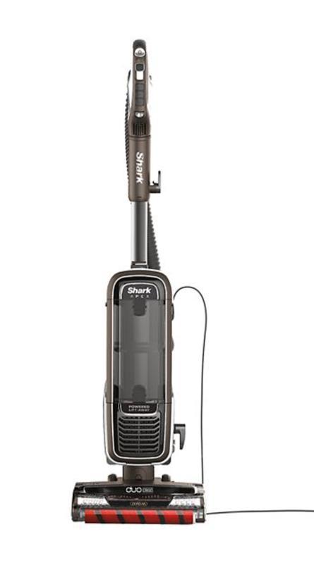 Shark APEX DuoClean with Zero-M Self-Cleaning Brushroll Powered Lift-Away Upright Vacuum (AZ1002)