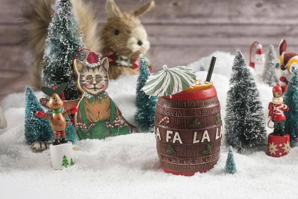 Christmas mug and decorations