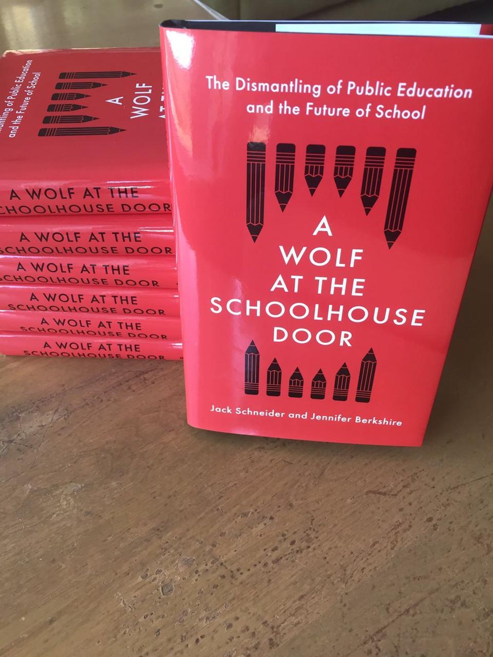 Wolf at the Schoolhouse Door
