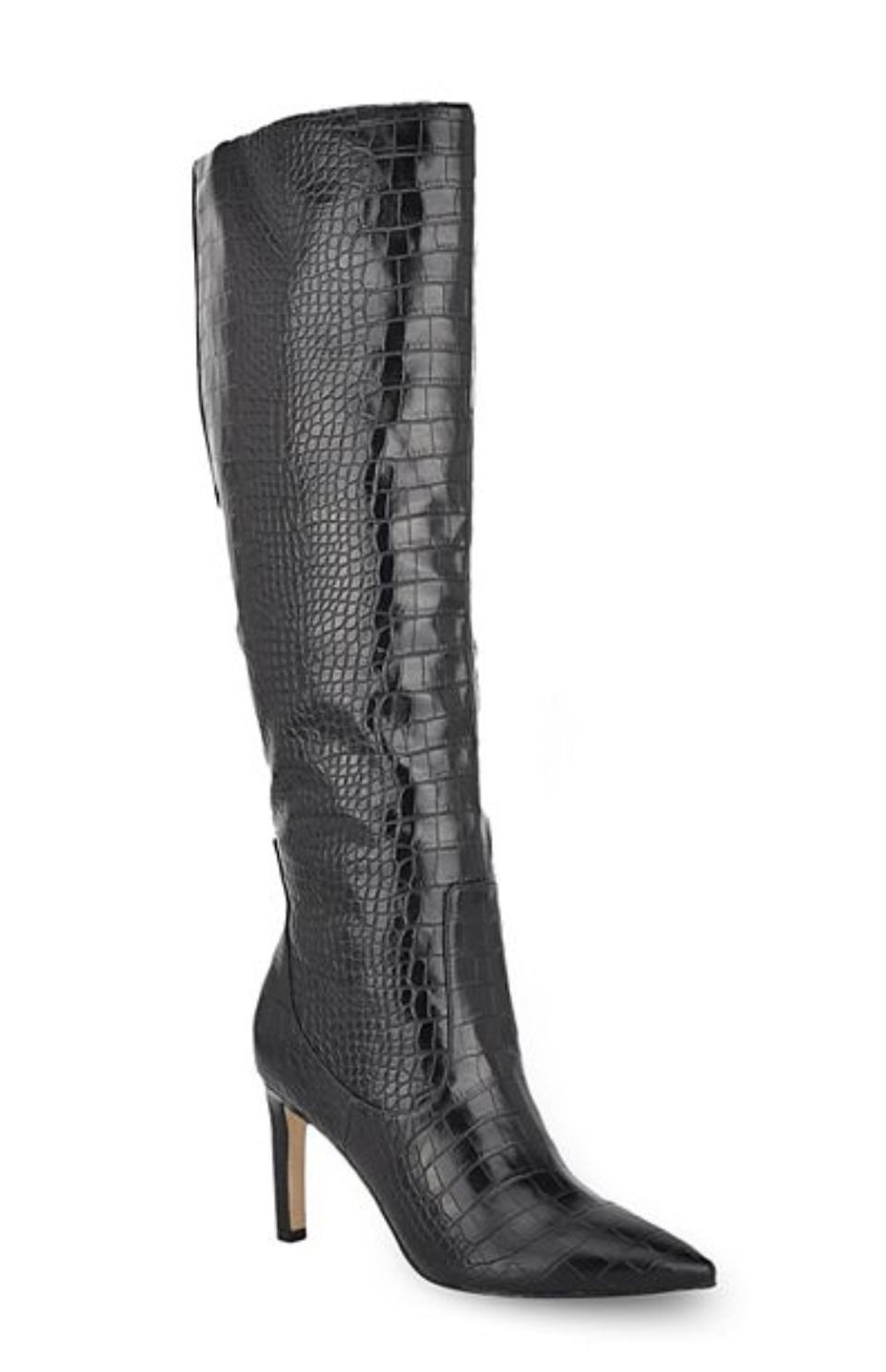 Nine West Maxim Women's Leather Knee High Boots