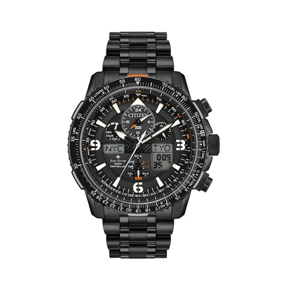 Citizen Eco-Drive Men's Promaster Skyhawk A-T Atomic Chronograph Watch