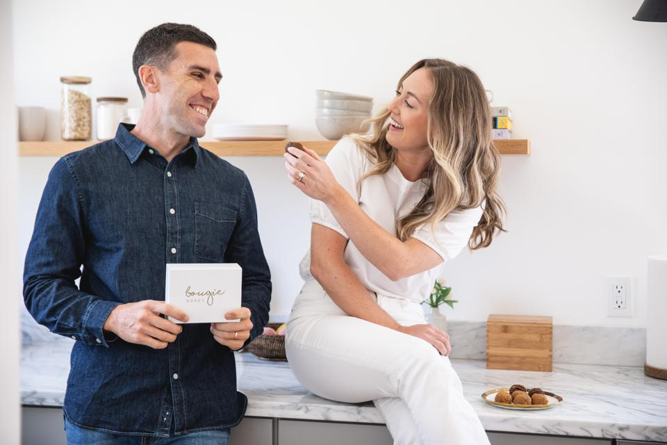 Husband-and-wife duo Ryan and Meghan Quinn co-founded Bougie Bakes.
