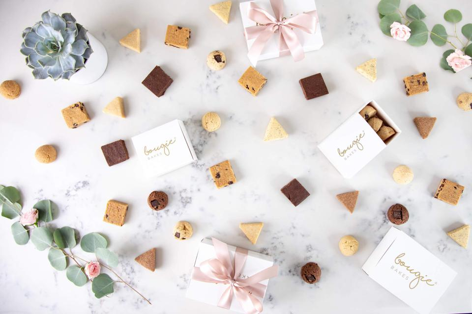 Bougie Bakes targets primarily the gifting market.