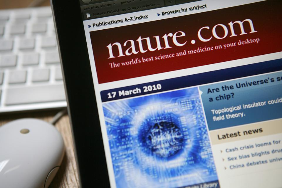 Nature scientific journals