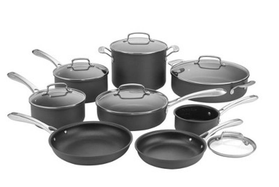 Cuisinart Classic 14pc Hard Anodized Cookware Set
