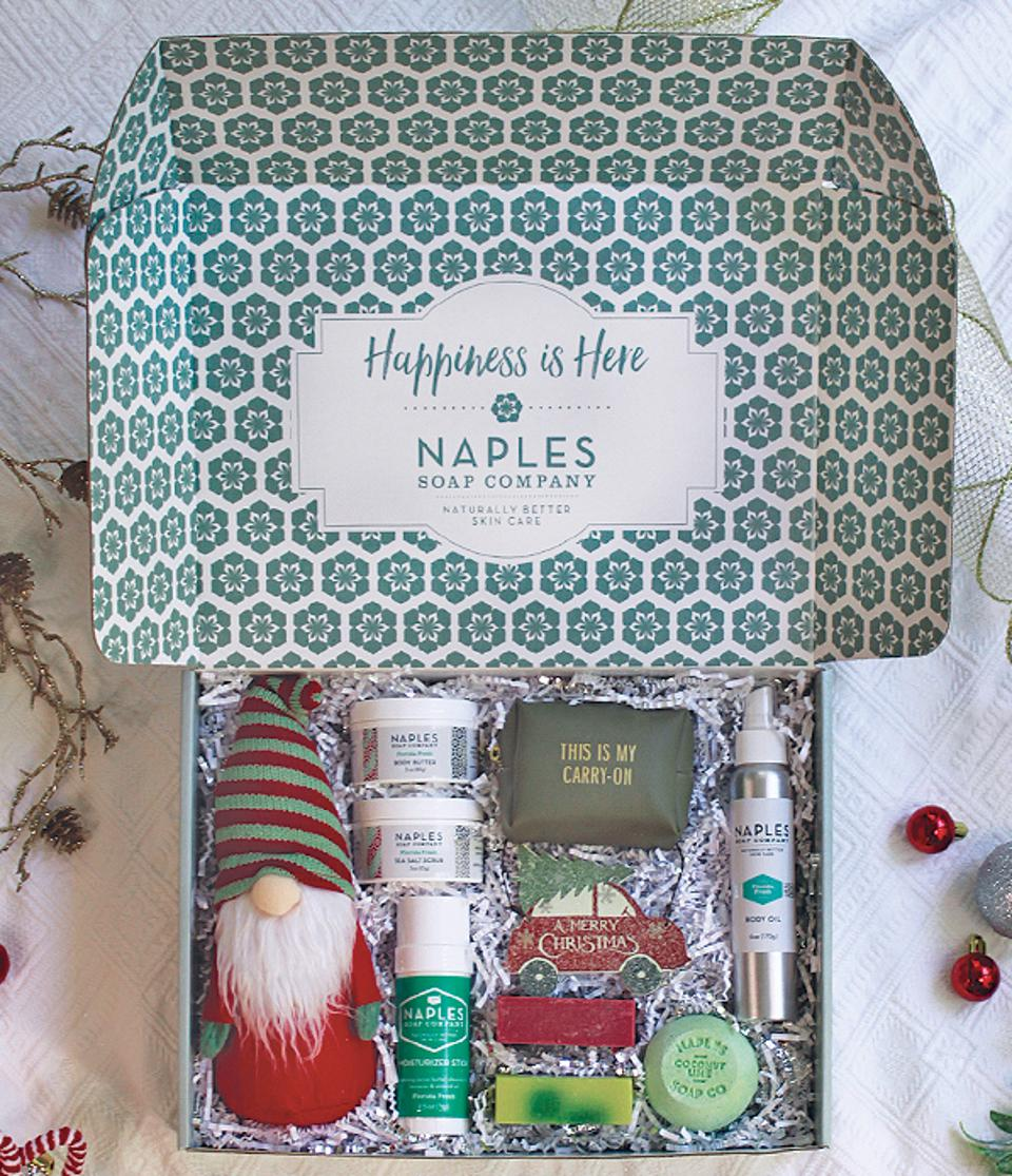 Gift sets from Naples Soap Company