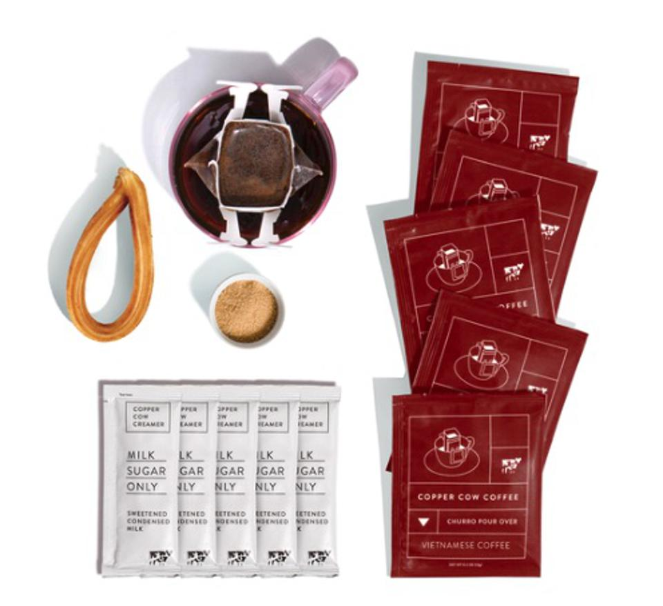 Vietnamese Coffee Pourover Sets, Copper Cow Coffee