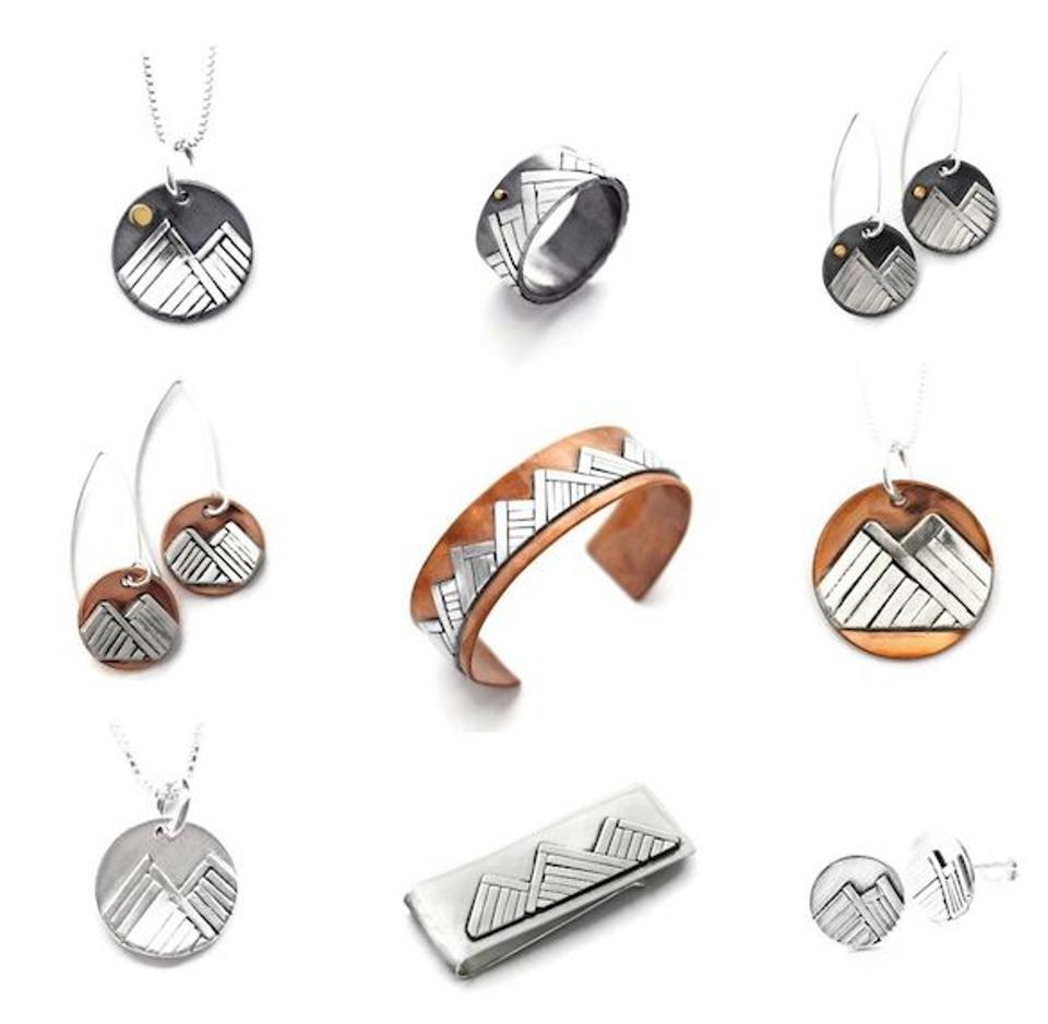Mountain Jewelry Collection, Jen Lesea Designs