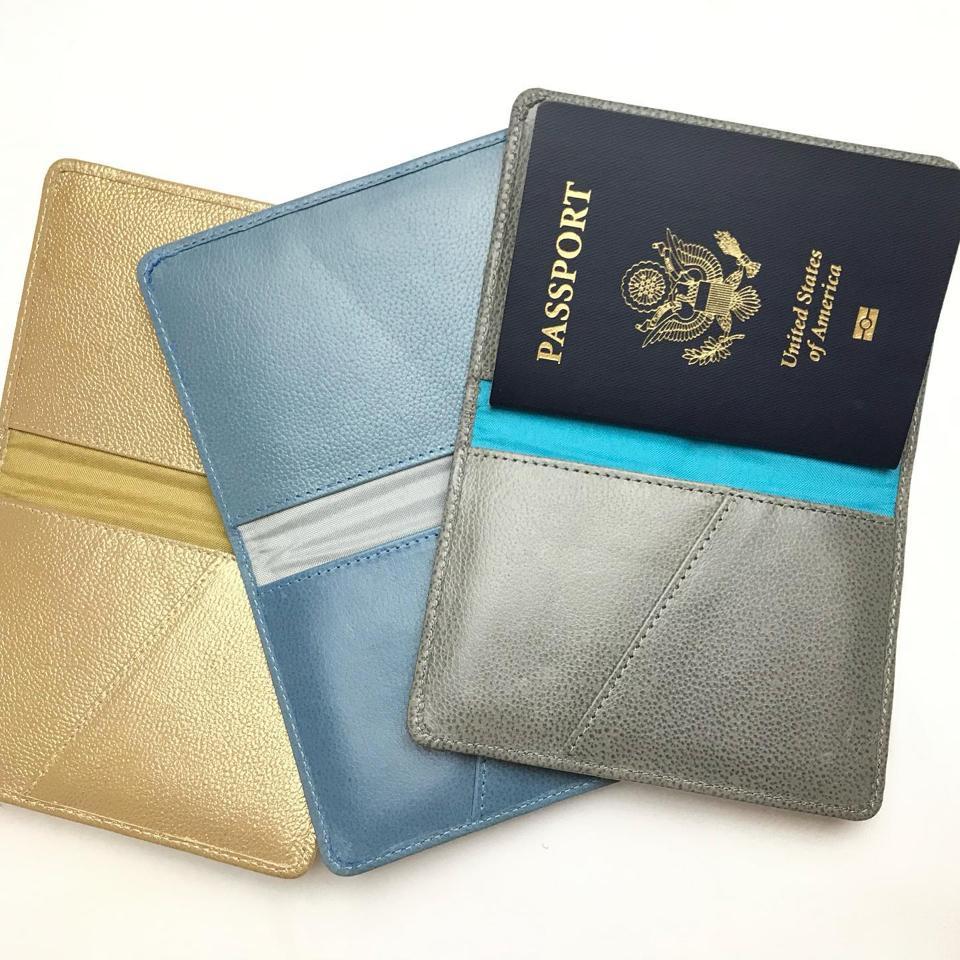 Leather Passport Covers, P. Sherrod & Co.
