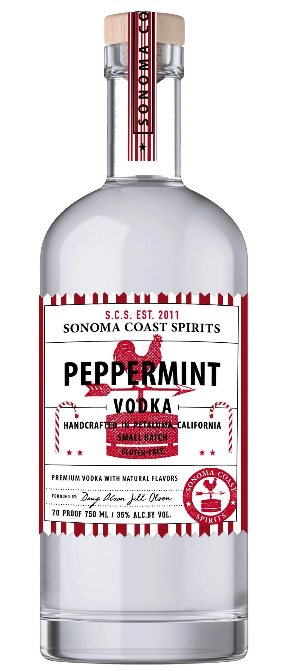 Sonoma Coast Spirits Peppermint Vodka