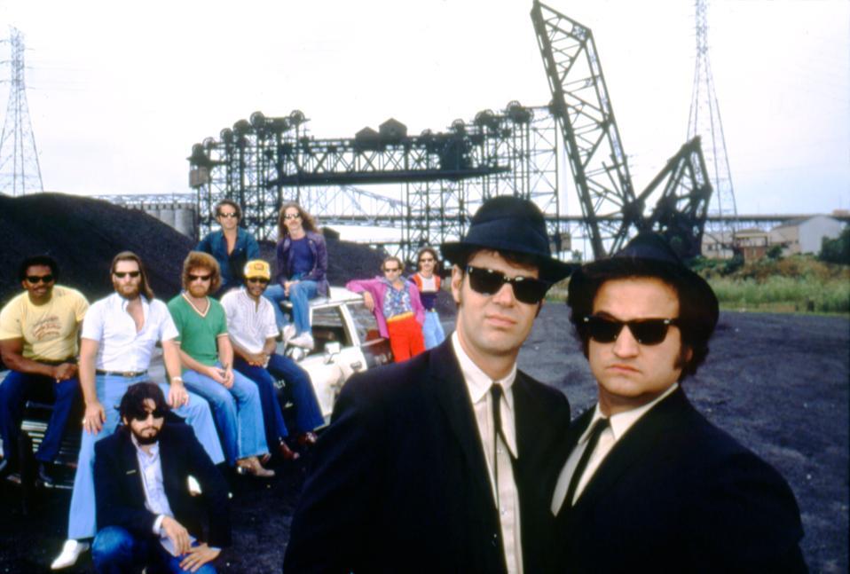 The Blues Brothers, John Landis, interview, anniversary, TCM, John Belushi, Dan Aykroyd