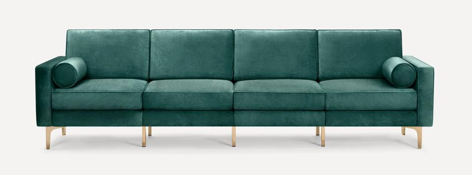 Nomad Velvet King Sofa
