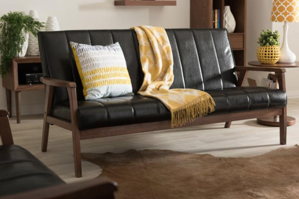 Baxton Studio Nikko Sofa