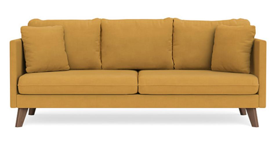 Custom Nox Sofa in Honey