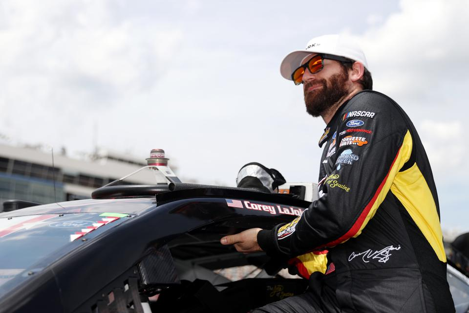 Corey LaJoie will drive for a different Nascar team in 2021.