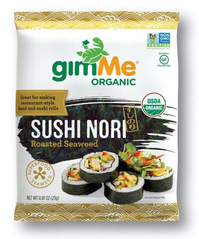 gimMe Snacks Sushi Nori Sheets
