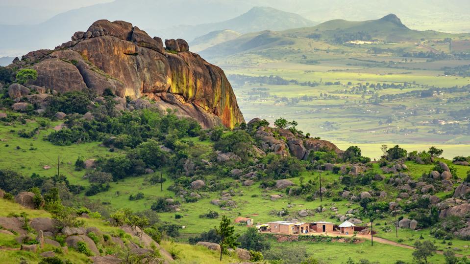 Swaziland valley of Ezulwini