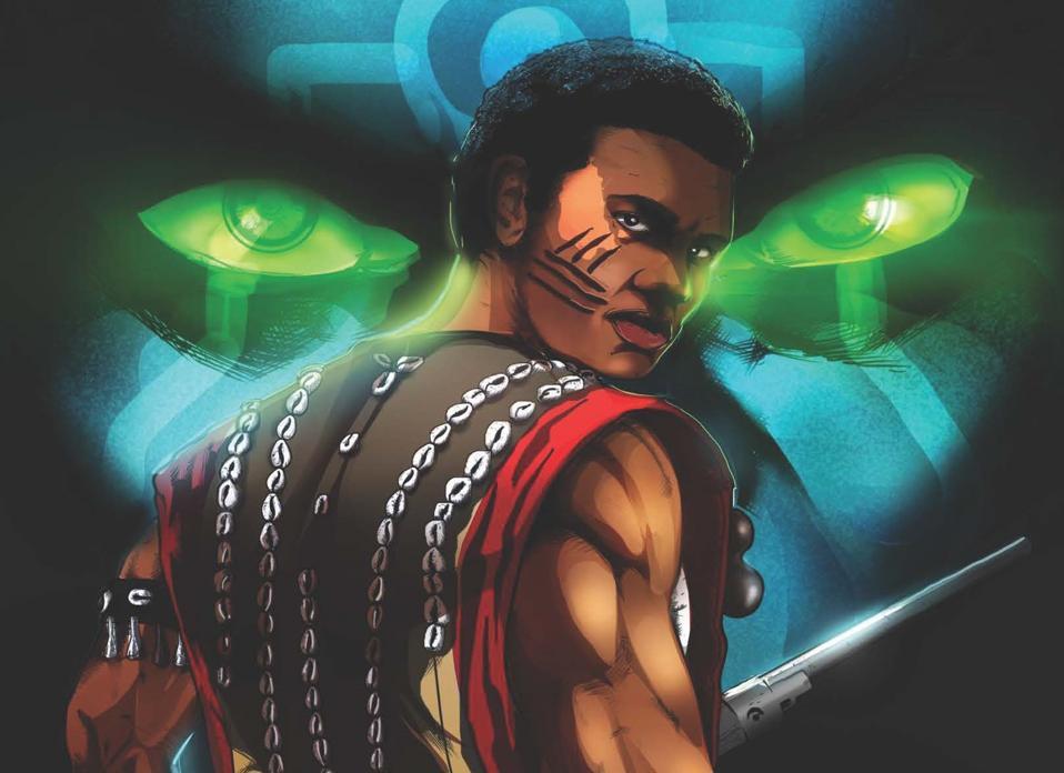 Duro Nigerian digital comic by Ayo Makinde