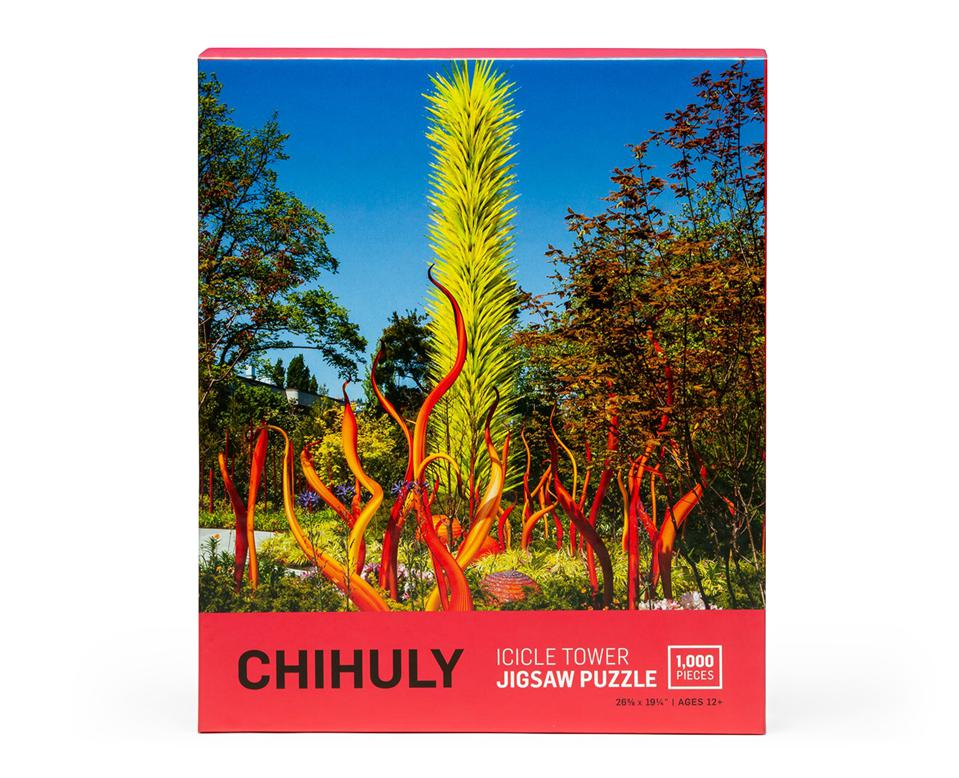 Chihuly Pure Imagination Icicle Tower