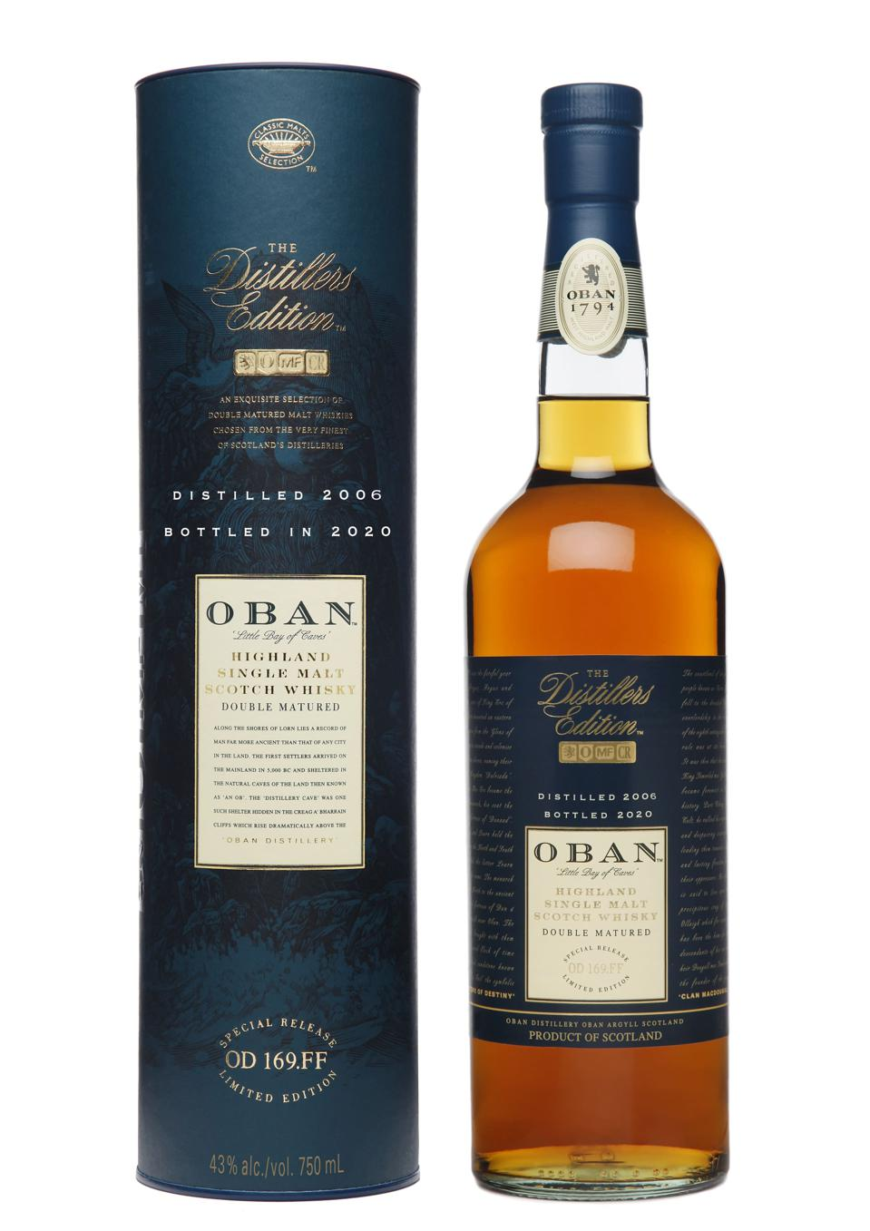 2020 Oban Distillers Edition