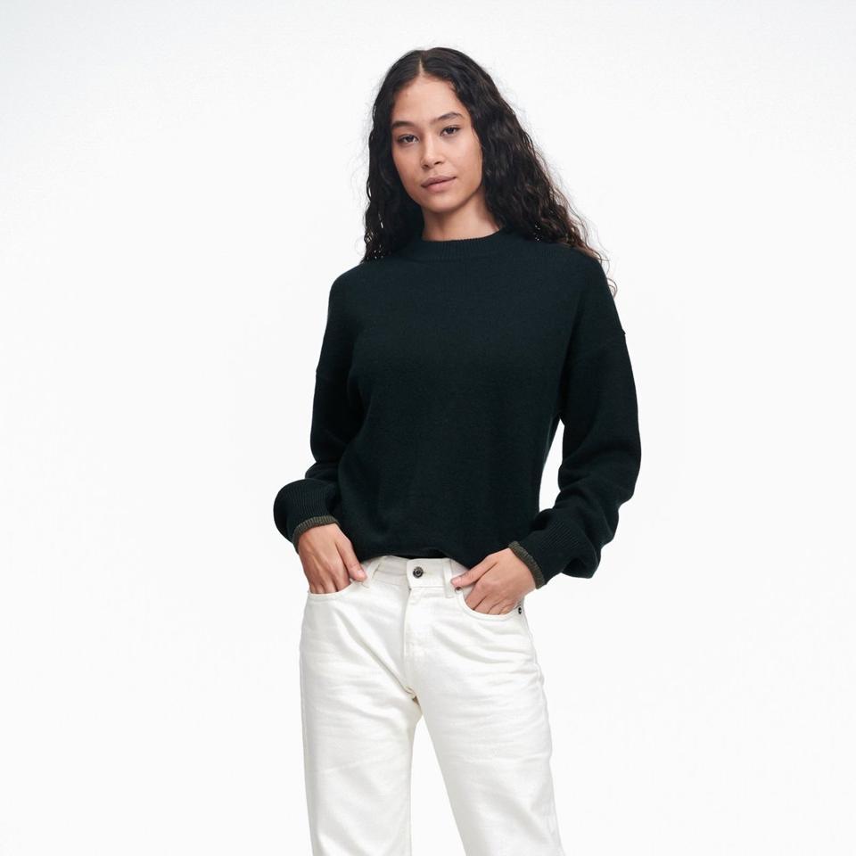 Cashmere Holiday Crewneck Sweater