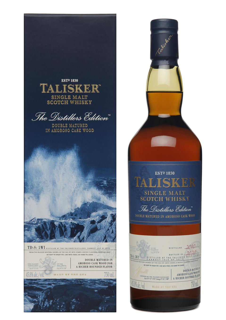 2020 Talisker Distillers Edition with Pack