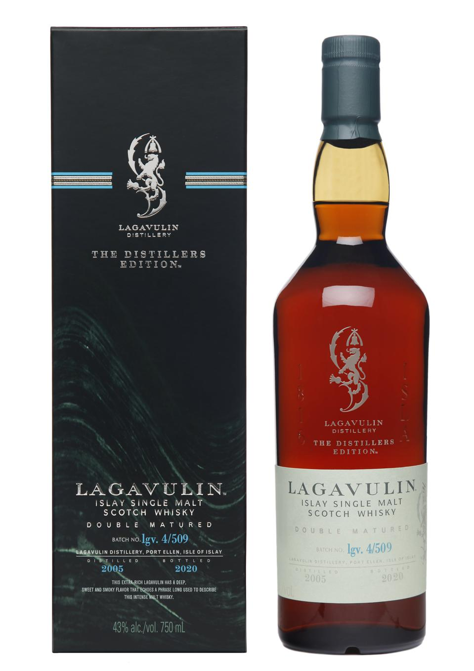 2020 Lagavulin Distillers Edition with Pack