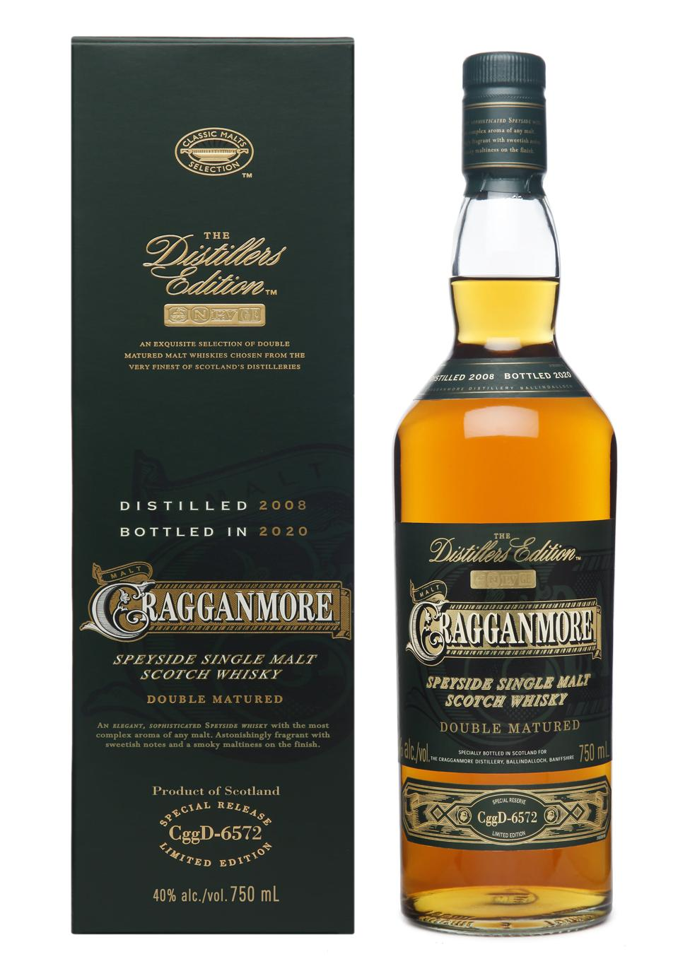 2020 Cragganmore Distillers Edition with Pack