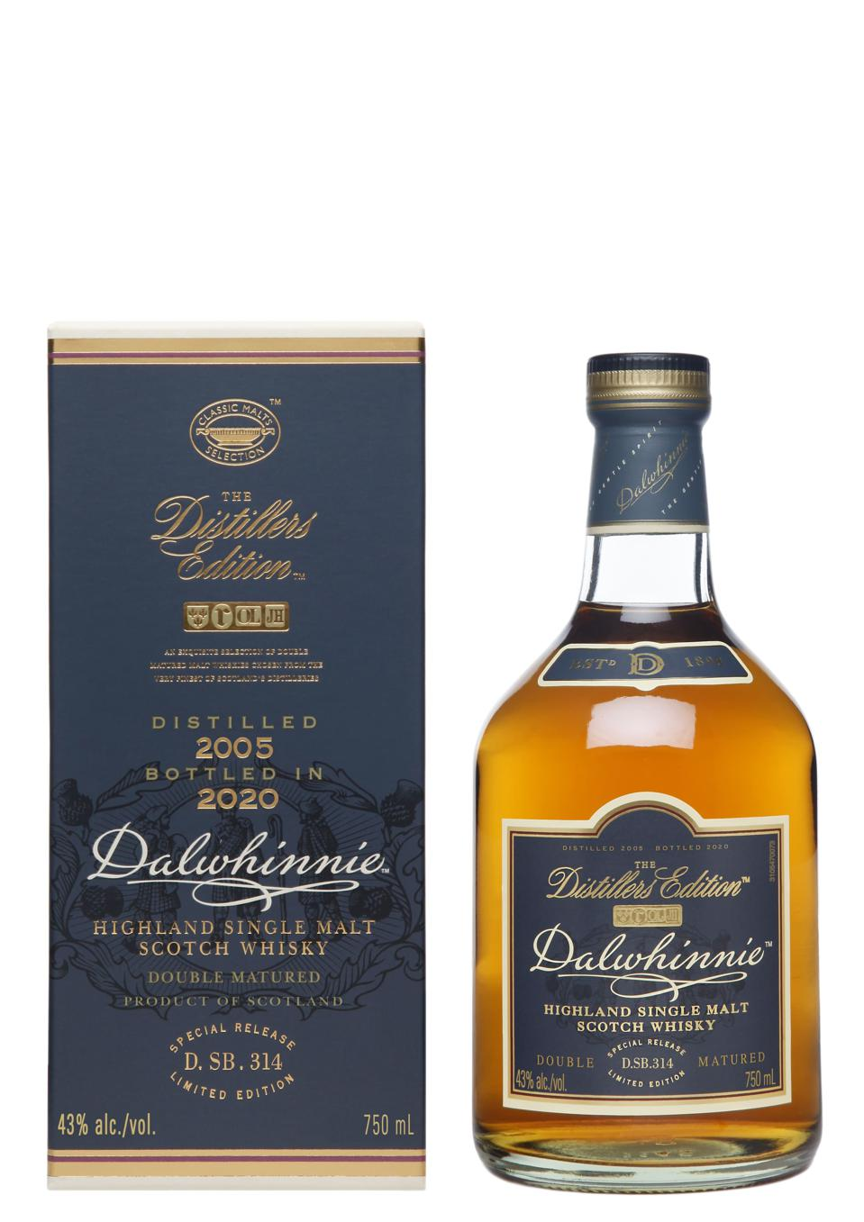 2020 Dalwhinnie Distillers Edition with Pack