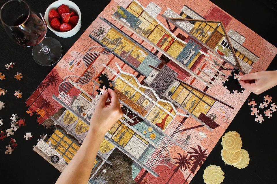 Desert Sunset from Modern Puzzles