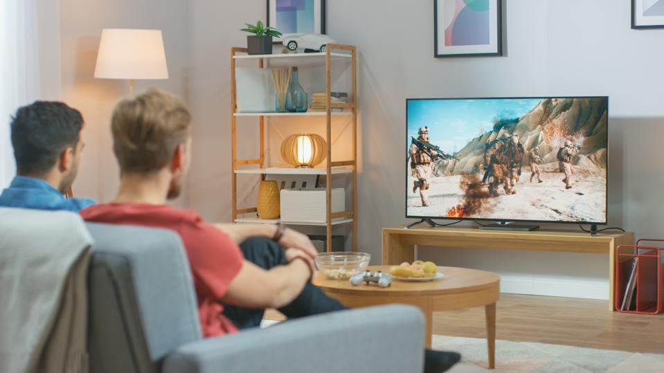 TV advertising revenue increased in the third quarter of 2020, despite the pandemic.