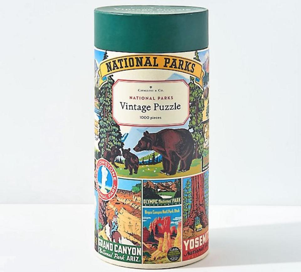 Cavallini & Co. National Parks Vintage Puzzle from Paper Source