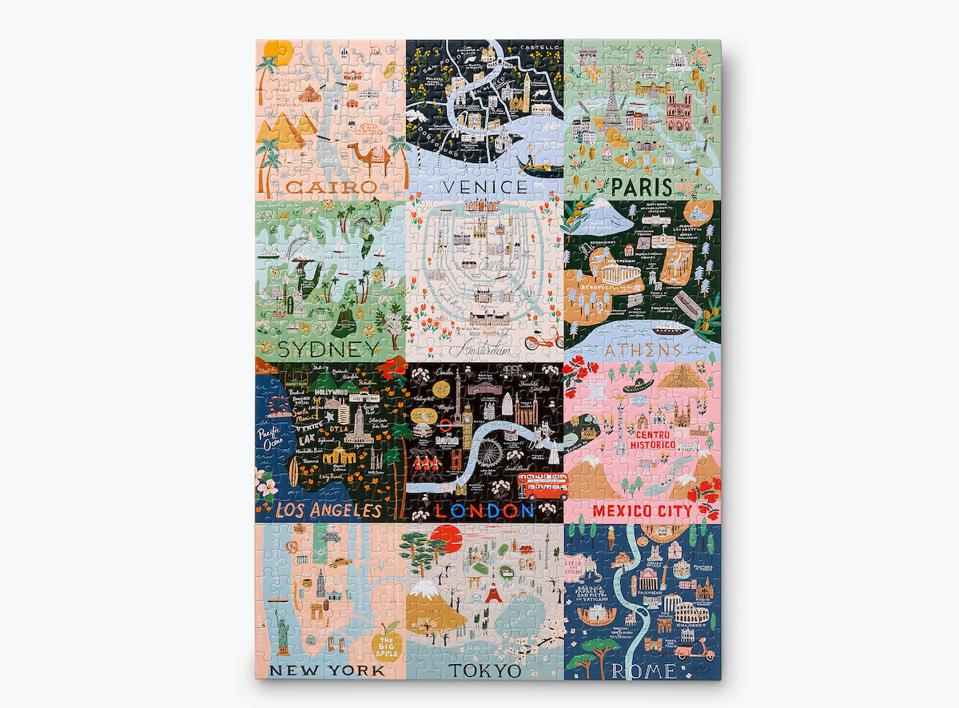 City Maps from Rifle Paper Co.