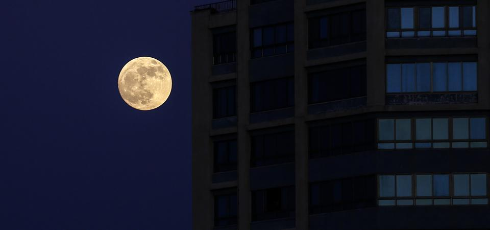 Full Moon Over Gaza