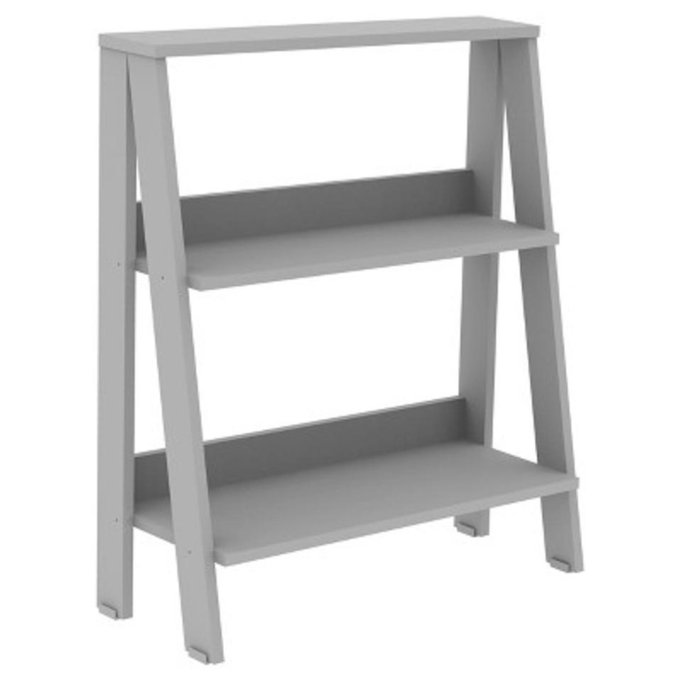55″ Modern 4 Shelf Ladder Bookshelf - Saracina Home