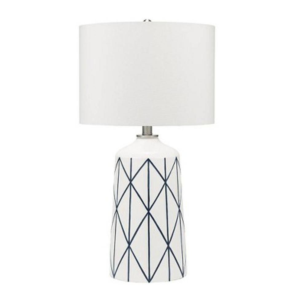 Capetown Table Lamp White - Cresswell Lighting