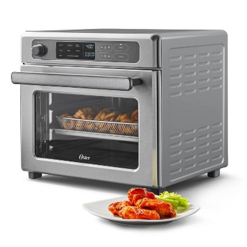 Oster Digital 9-Function Countertop Air Fryer Oven with RapidCrisp