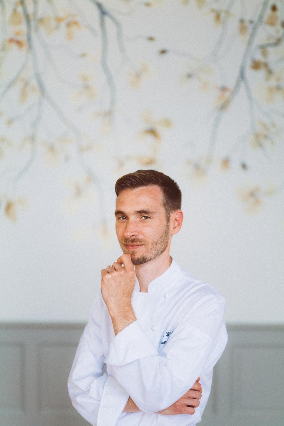 Pastry Chef Damien Amilien of Le Gabriel, Bordeaux
