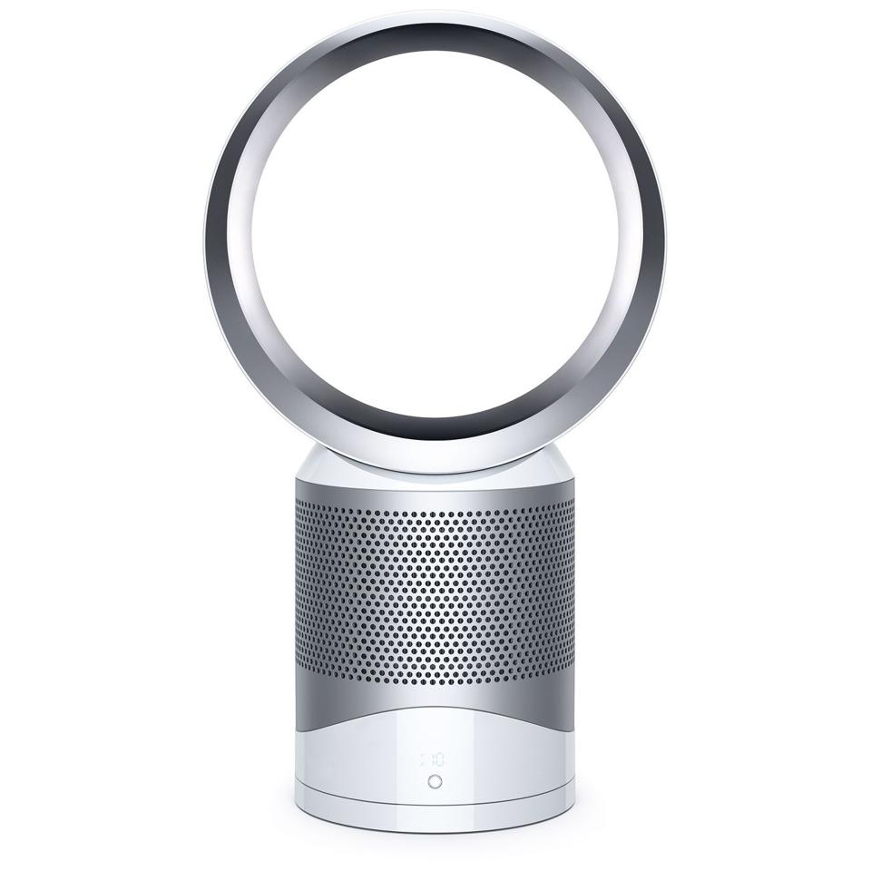 Dyson Pure Cool Link Air Purifier in white and silver