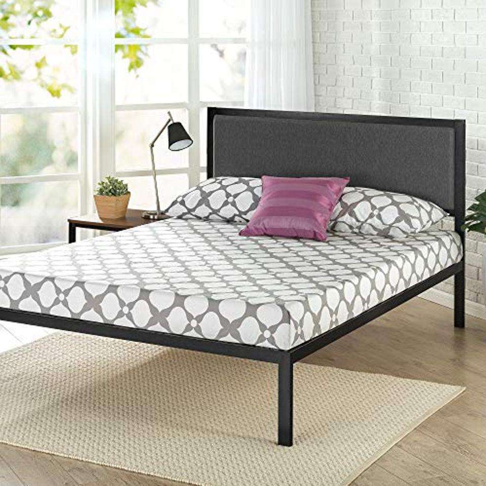 Zinus Korey Steel Platform Bed Frame, Queen